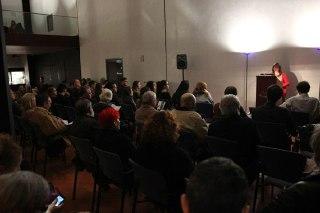 Conferencia en el Auditorio Alfredo Kraus