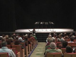 Conferencia en el Teatro El Salinero, Lanzarote