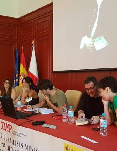 Mesa redonda en la UIMP, Cuenca