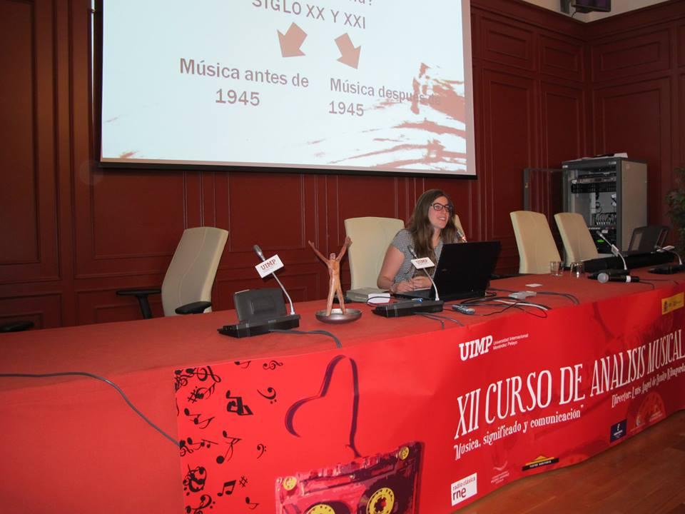 Conferencia en la UIMP, Cuenca